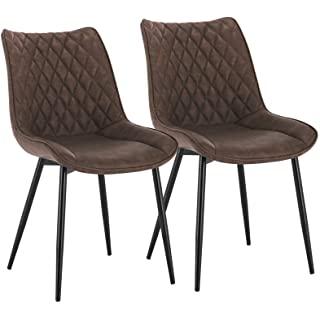 silla estilo industrial de metal  tapizada 09