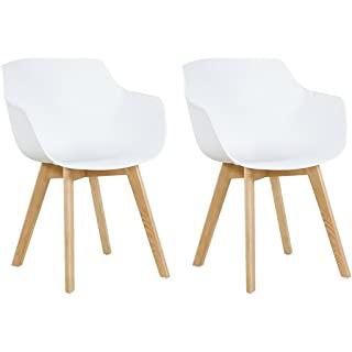 silla estilo industrial tapizada blanca 06