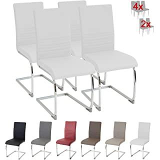 silla estilo industrial tapizada blanca 04