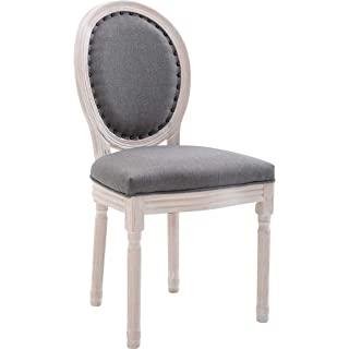 silla estilo industrial tapizada blanca 09