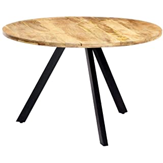 mesa redonda estilo industrial para salon comedor 04