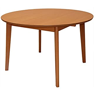 mesa redonda estilo industrial para salon comedor 07