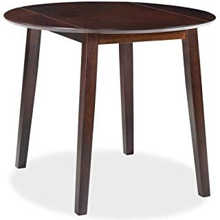 mesa redonda estilo industrial para salon comedor 09