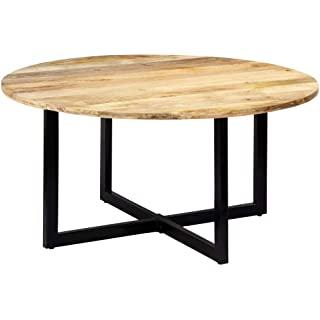 mesa redonda estilo industrial para salon comedor 06