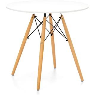 mesa redonda estilo industrial para cocina 06