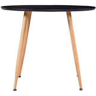 mesa redonda estilo industrial para cocina 07