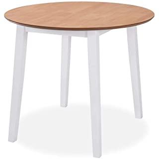 mesa redonda estilo industrial para cocina 08