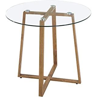 mesa redonda estilo industrial para cocina 05