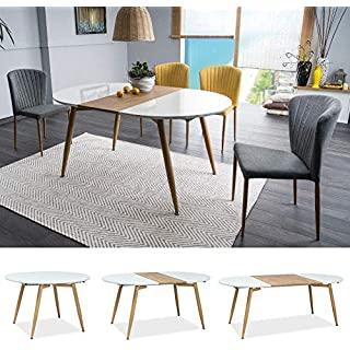 mesa redonda estilo industrial para cocina 10