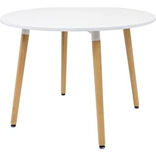 mesa redonda estilo industrial para cocina 09