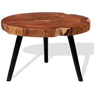 mesa de centro redonda estilo industrial 06