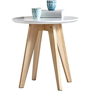 mesa de noche redonda estilo industrial 02