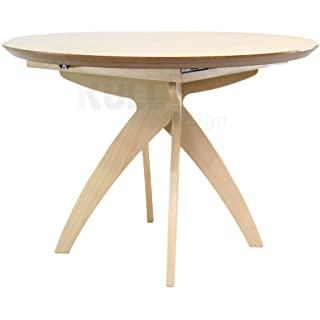 mesa redonda estilo industrial extensible 09