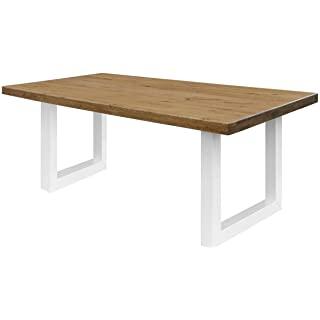 mesa de comedor estilo industrial 02