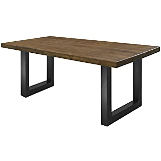 mesa de comedor estilo industrial 01