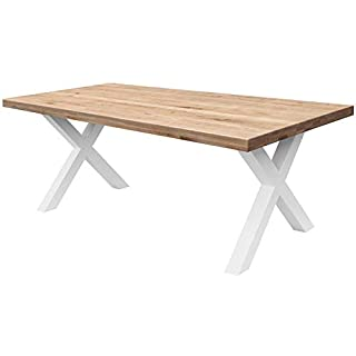 mesa de comedor estilo industrial 06