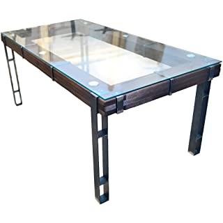 mesa de comedor estilo industrial 09