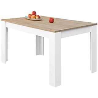 mesa de comedor estilo industrial extensible 04