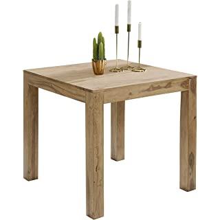 mesa de comedor industrial cuadrada 01