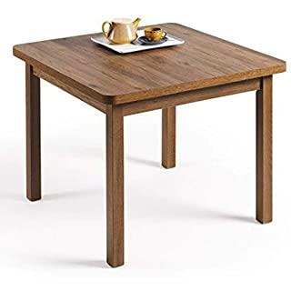 mesa de comedor industrial cuadrada 05