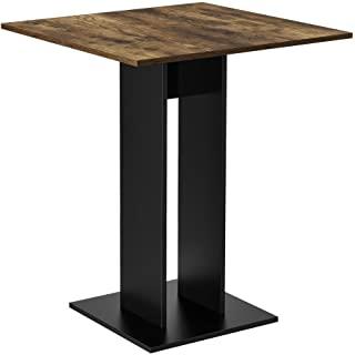 mesa de comedor industrial cuadrada 07