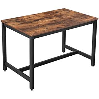mesa de comedor industrial cuadrada 04