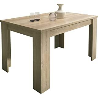 mesa de comedor industrial de madera 05