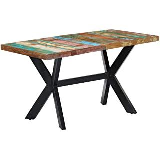 mesa de comedor industrial vintage 03