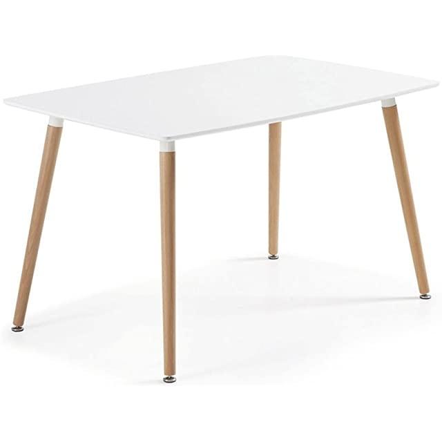 mesa de comedor estilo industrial nordica