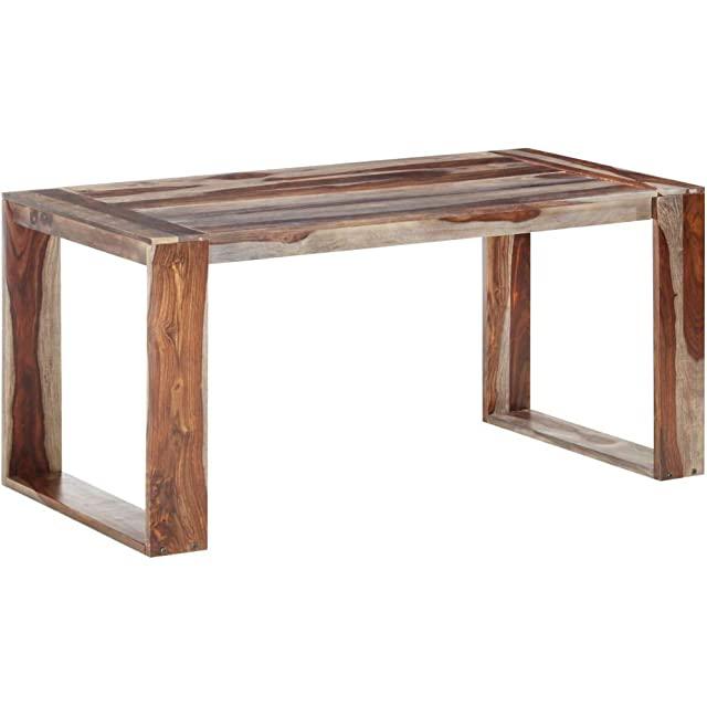 mesa industrial de madera