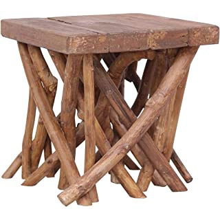 mesa industrial madera reciclada 10