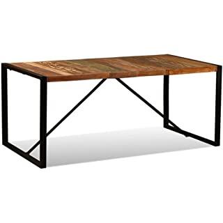 mesa industrial madera reciclada 07