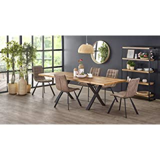 mesa industrial madera extensible 05