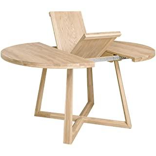 mesa industrial madera extensible 10