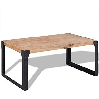 mesa de madera industrial vintage 08