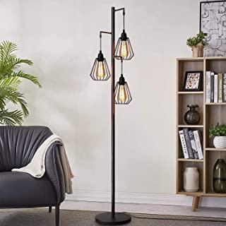 lampara de pie industrial vintage 01
