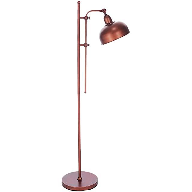 lampara de pie industrial vintage