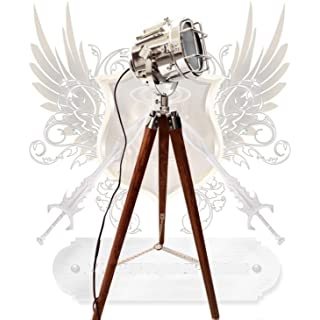 lampara de pie industrial con tripode 09