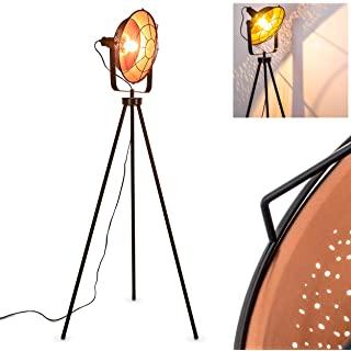 lampara de pie industrial con tripode 10