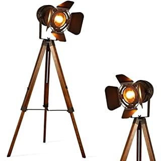 lampara de pie industrial con tripode 08