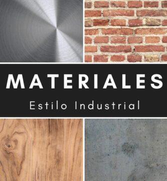 Materiales estilo industrial