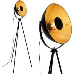 lampara de pie estilo industrial