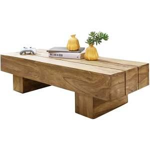 mesa de madera de centro industrial