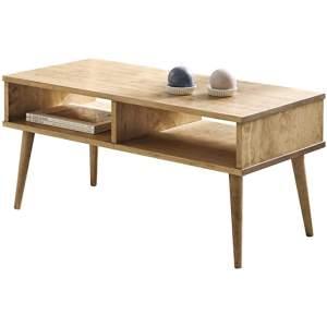 mesa de madera vintage industrial