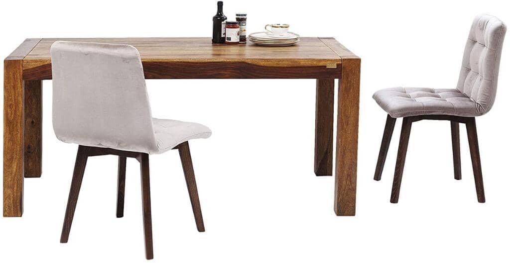 mesa estilo industrial de madera