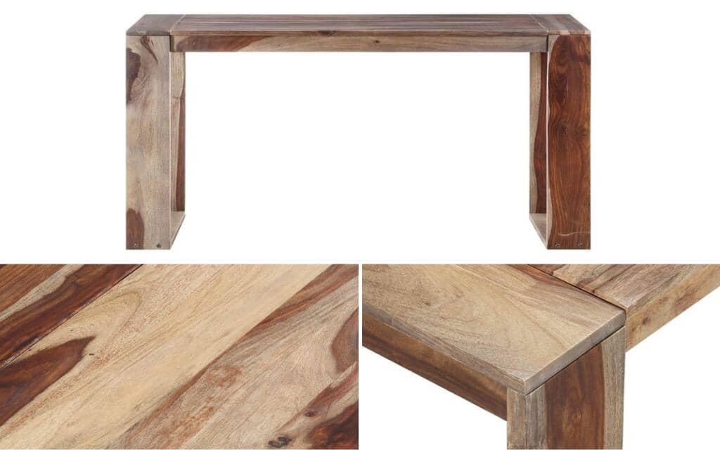 mesa industrial madera