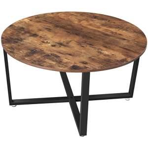 mesa redonda industrial de centro