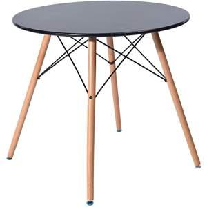 mesa redonda industrial para cocina