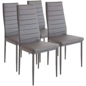 silla industrial tapizada de cocina