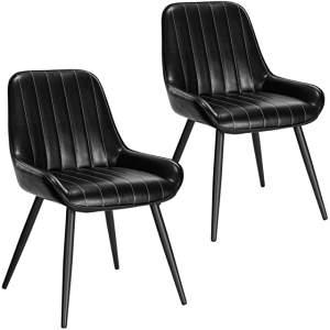 silla industrial tapizada de metal